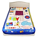 The Fitted Sheet Underneath Has Checkers, Tic-Tac-Toe, and More
