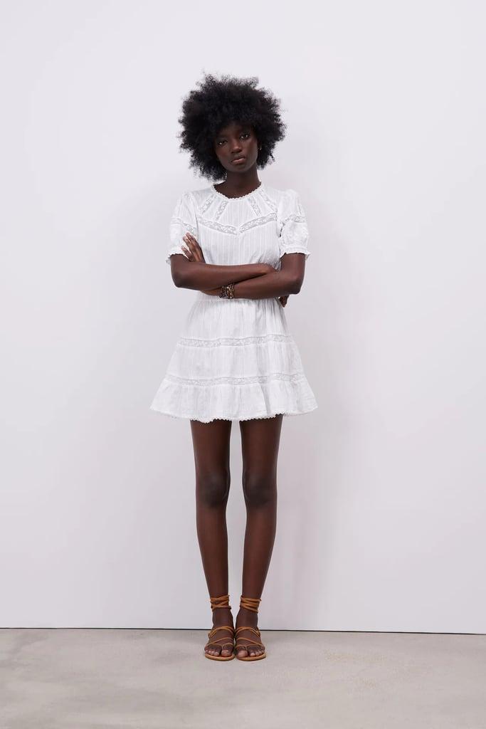 Zara Combination Short Dress