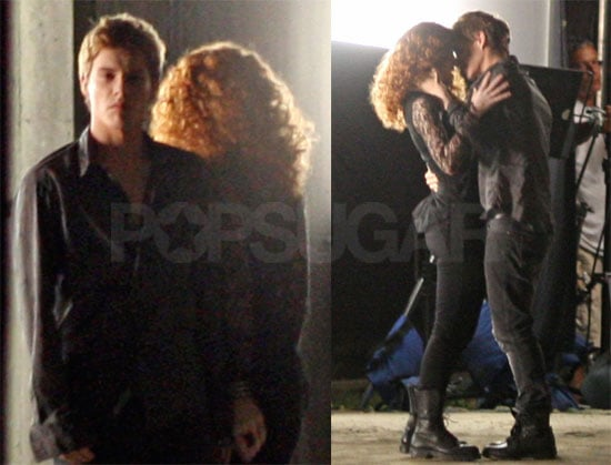 Photos Of Xavier Samuel Kissing Bryce Dallas Howard In