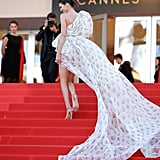 Kendall Jenner Giambattista Valli Dress at Cannes 2017