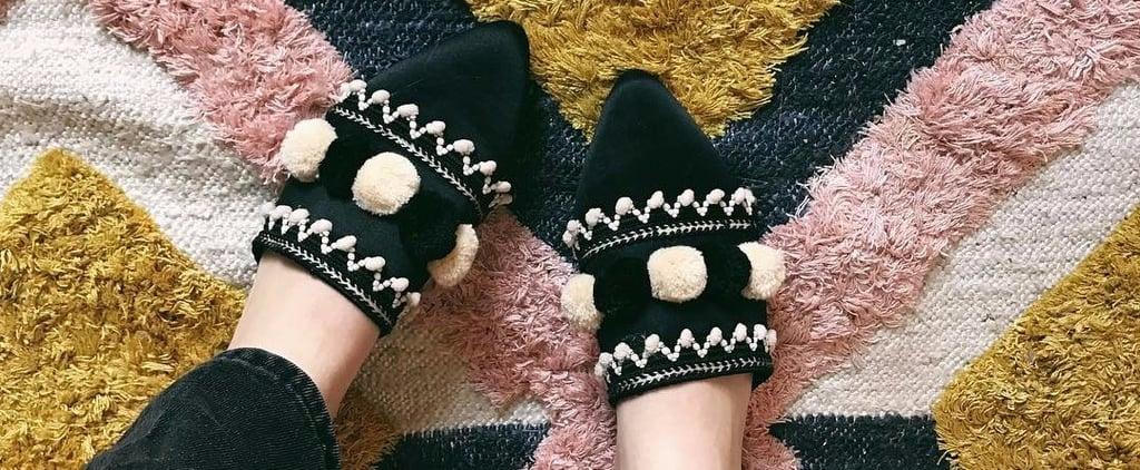 Next Pom Point Babouche Shoes Trend