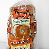 Thomas Pumpkin Spice Bagels