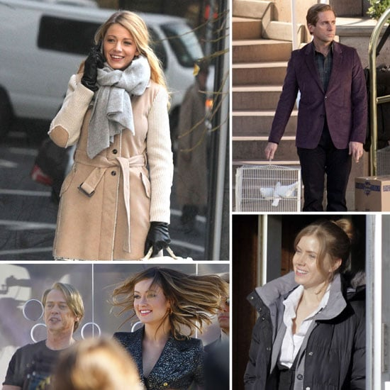 Celebrities on Set For the Week of January 13, 2012