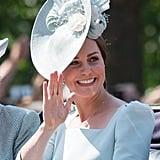 Pictured: Kate Middleton.