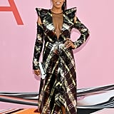 June Ambrose at the 2019 CFDA Awards