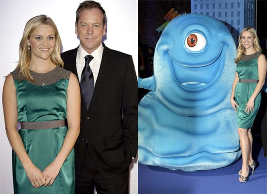 10/03/2009 Reese Witherspoon and Kiefer Sutherland at Monsters and Aliens