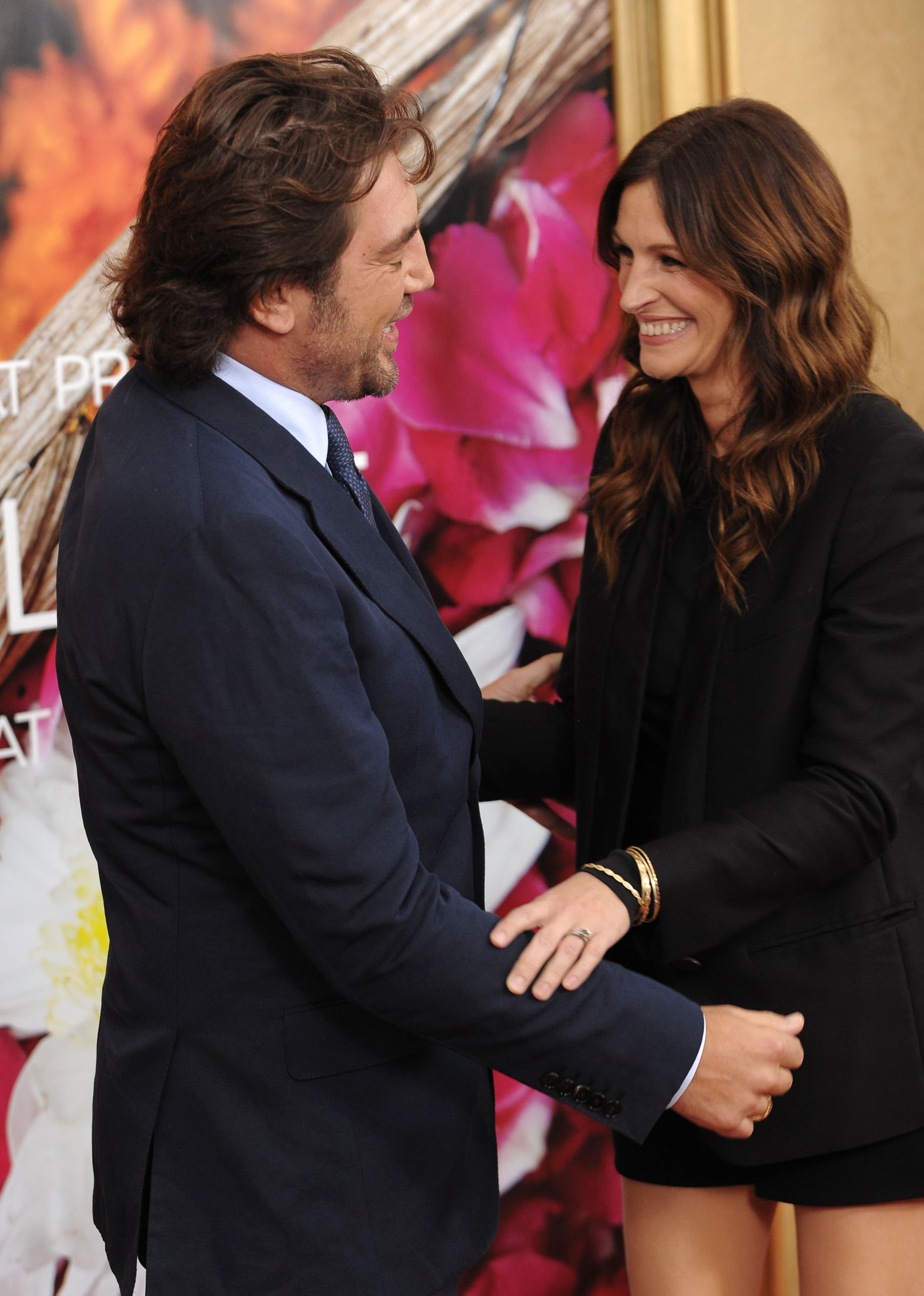 Pictures of Julia Roberts and Javier Bardem at Eat Pray ...