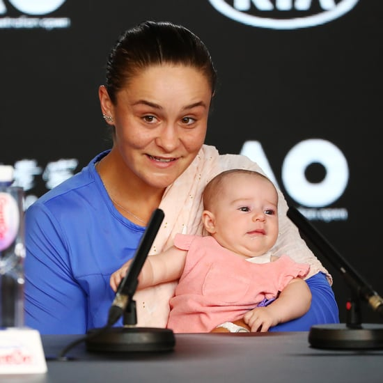 Photos of Ashleigh Barty With Baby Niece at Australian Open