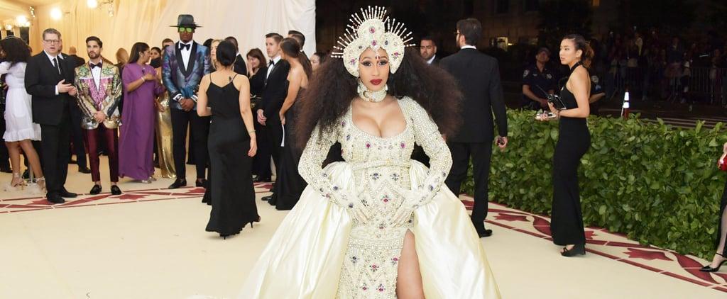 Cardi B Met Gala Dress 2018