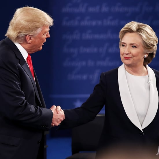 Hillary Clinton Avoiding Hug From Donald Trump Video