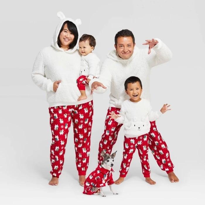 Target Holiday Llama Pajamas