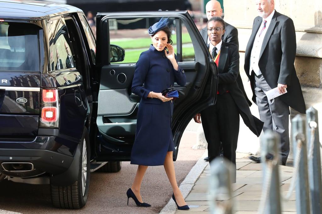 Meghan Markle Hat at Princess Eugenie's Wedding 2018