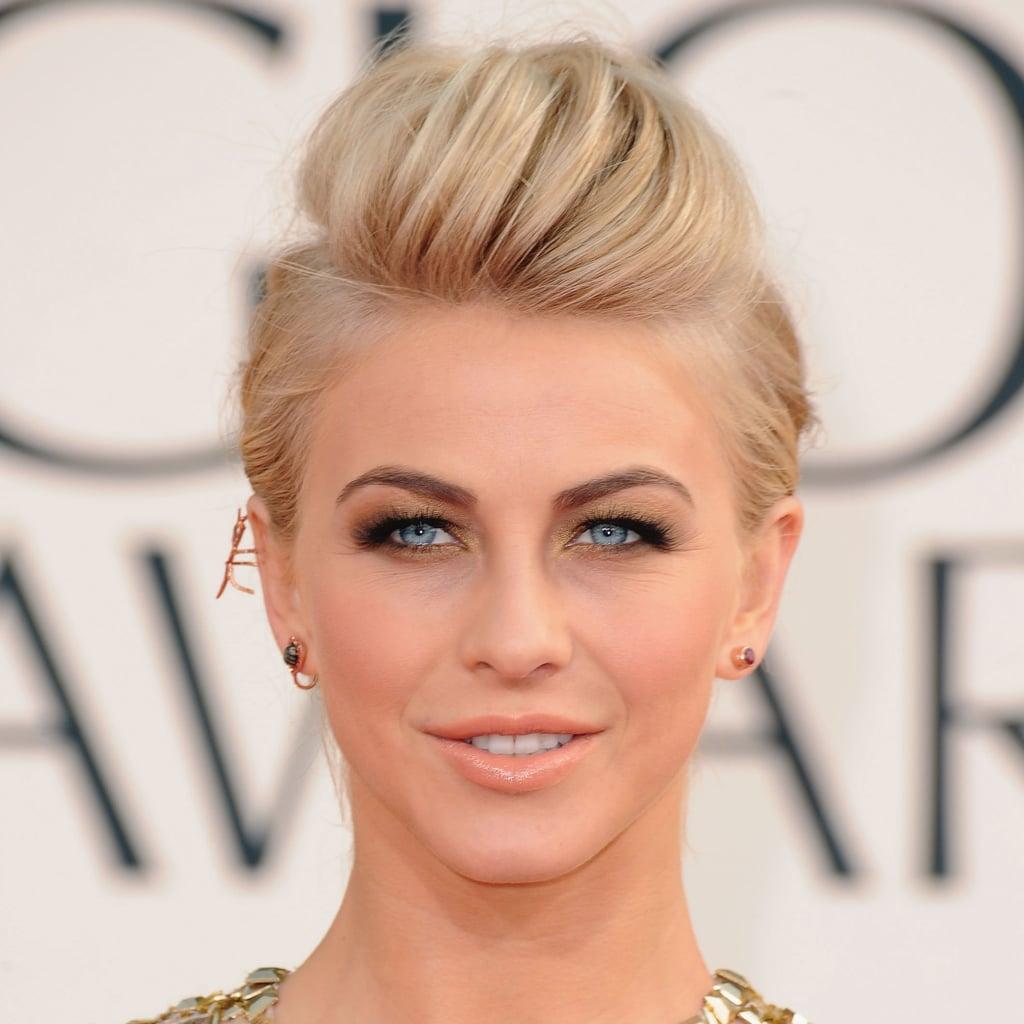 Julianne Hough | Golden Globes Hair 2013