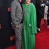 Drew Barrymore Timothy Olyphant Santa Clarita Diet Premiere