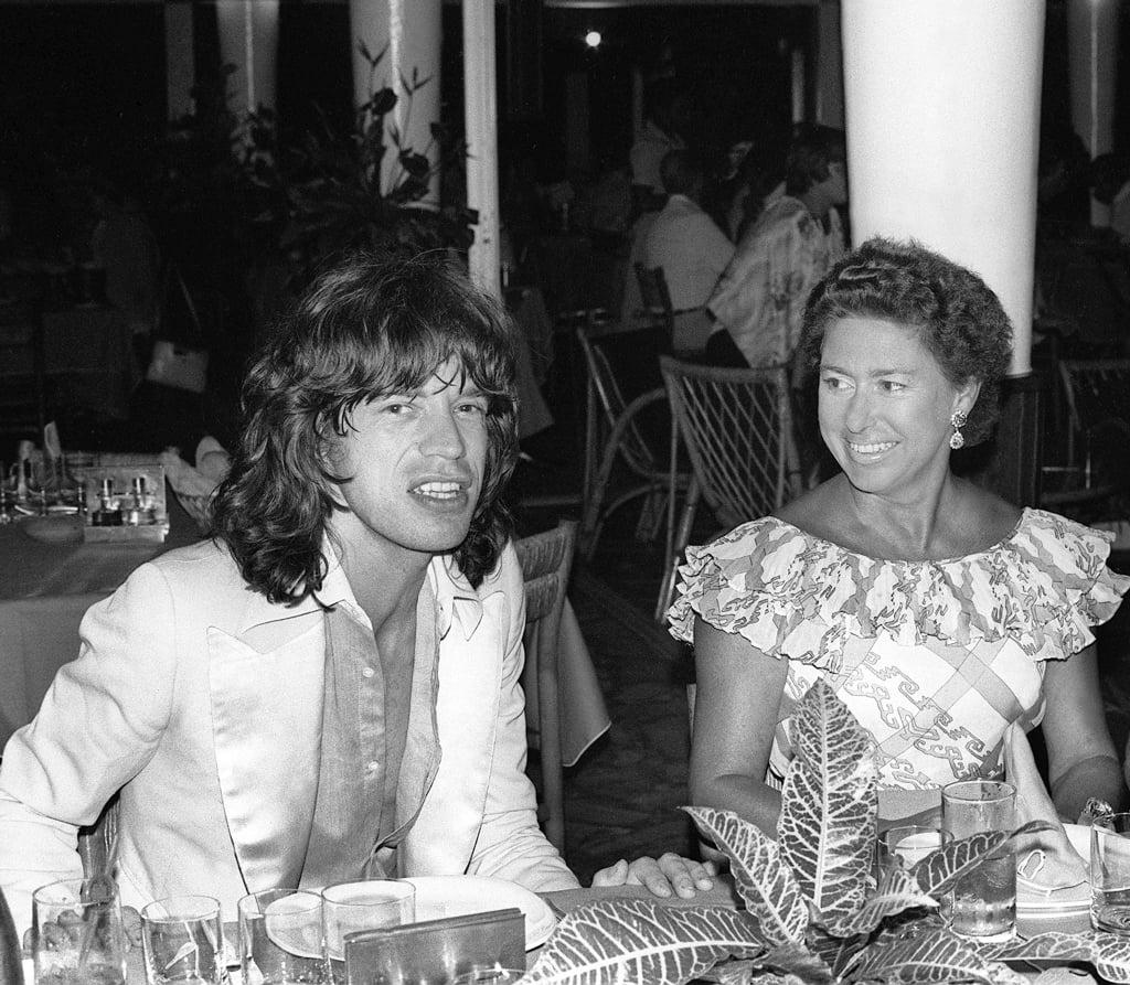 Mick Jagger and Princess Margaret
