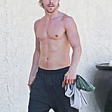 Derek Hough Shirtless in LA July 2016 | Pictures