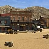 Mini Hollywood in the Tabernas Desert of Almeria, Spain