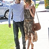 Kate Bosworth and Michael Polish took a stroll in Beverly Hills after grabbing a meal.