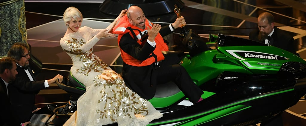 Here's the Lucky Winner of That £13,000 Oscars Jet Ski!