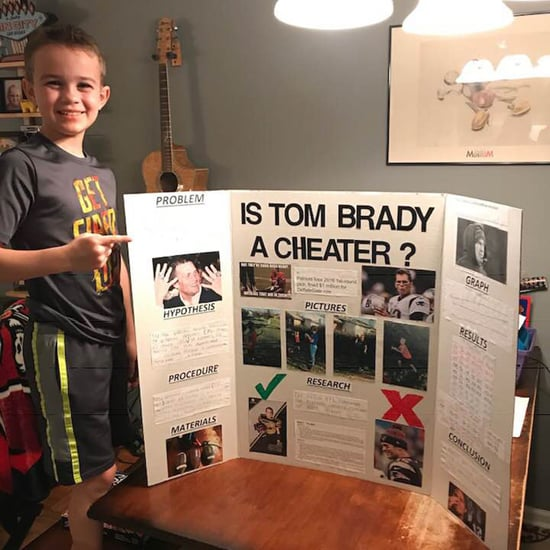 Kid's Science Project About Tom Brady Being a Cheater