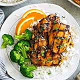 Sticky Honey Orange Grilled Chicken