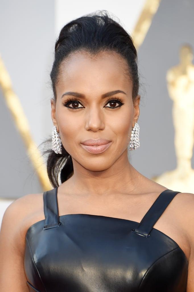 Kerry Washington Hair and Makeup at the 2016 Oscars
