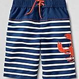 Nautical Swim Trunks