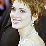 Winona Ryder With a Red Pixie