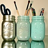 Mason Jar Pen Holders