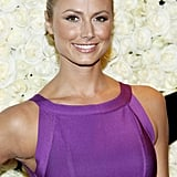 Stacy Keibler attended QVC's Buzz on the Red Carpet party and broadcast at the Beverly Hills Four Seasons Hotel.
