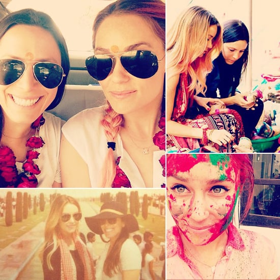 Lauren Conrad Shares Snaps of Her Indian Holiday