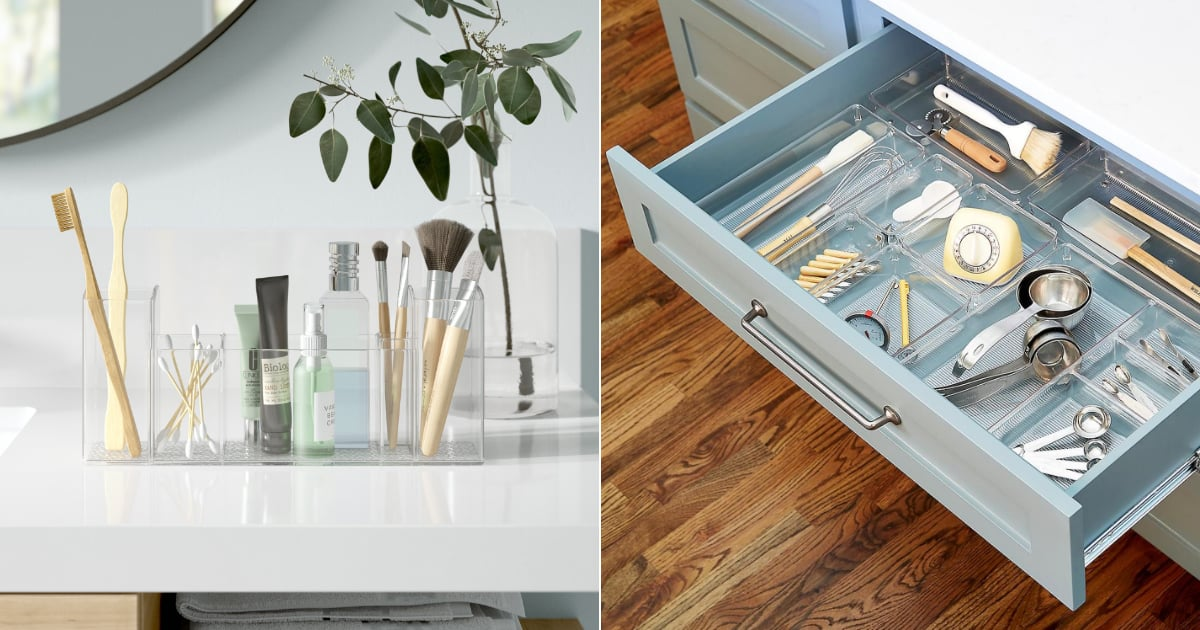 Get Organized Once and For All With These 20 Helpful Clear Organizers