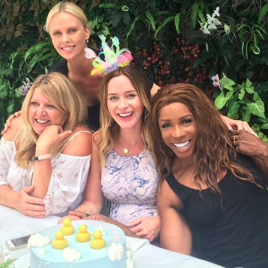 Emily Blunt Baby Shower Pictures 2016