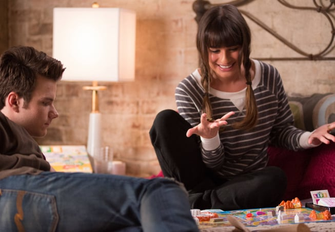 Kurt and Rachel are still hanging out in their remote New York apartment.