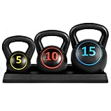 3-Piece Kettleball Weight Set