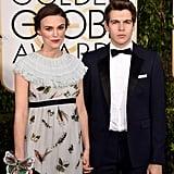 Pregnant Keira Knightley's Baby Bump at 2015 Golden Globes