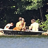 Blake Lively Goes Boating in a Bikini With Shirtless Ryan Reynolds