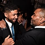 Pictured: Lee Daniels and Jussie Smollett