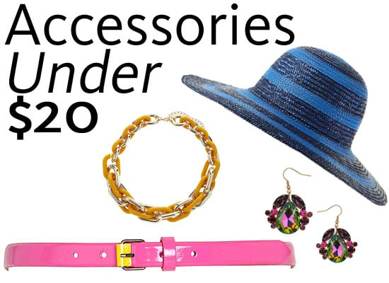 Top Ten Accessories Under $20 Online: Best Budget Buys from Rubi Shoes, Sportsgirl, Bardot, Topshop, ASOS and more!