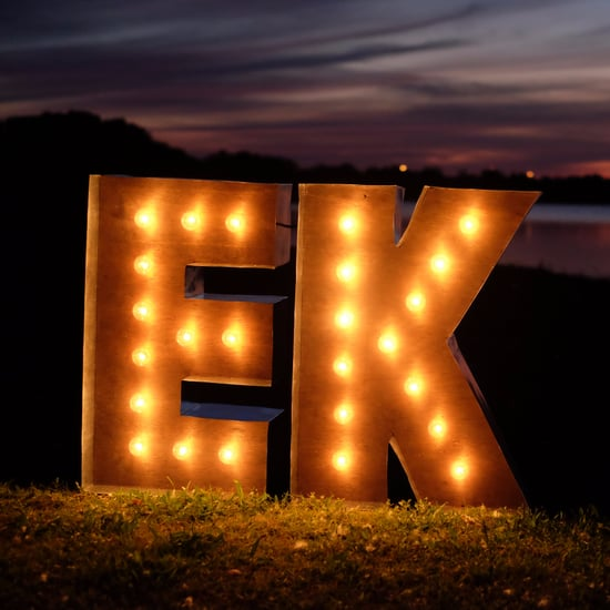 DIY Marquee Letter Sign