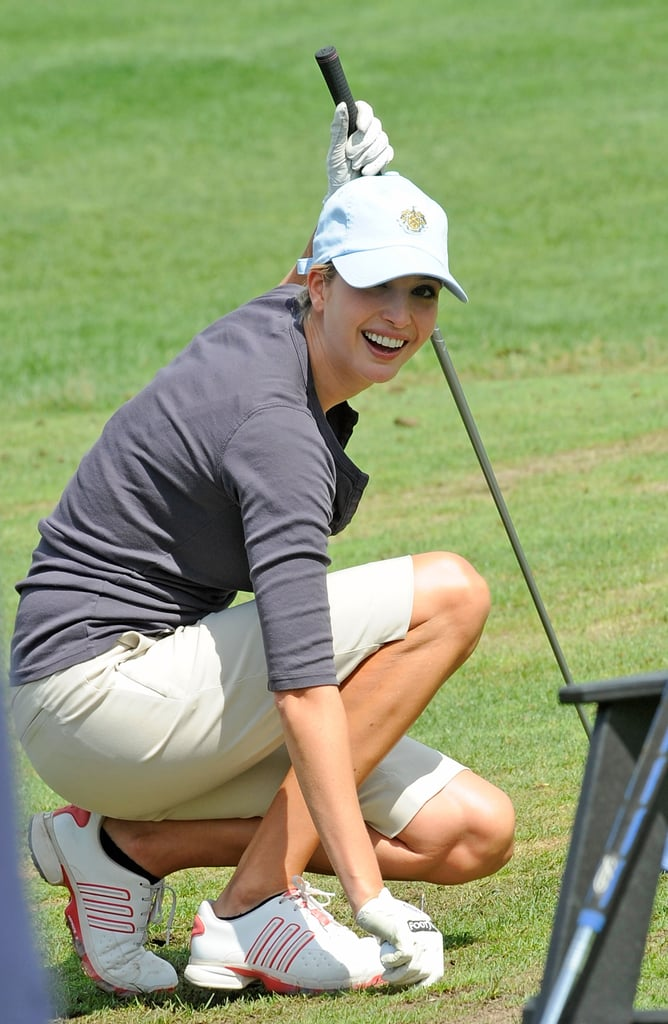 Ivanka Trump was ready for a round in September 2012 in New York.