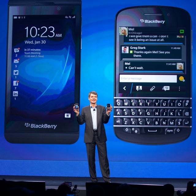 Buttons, Be Gone! Preorder the All-Touch BlackBerry Z10 on March 12
