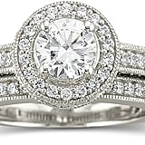 JCPenney DiamonArt Cubic Zirconia Bridal Set