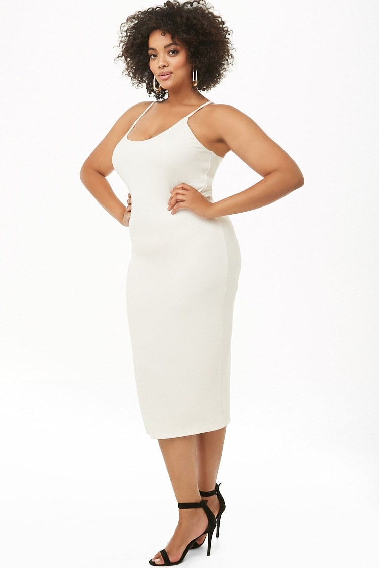 Forever 21 Plus Size Ribbed Cami Midi Dress | Wait — Did Kourtney ...