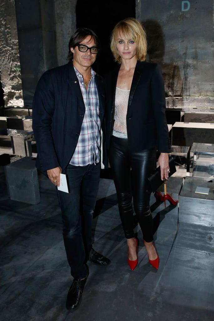 Mario Sorrenti and Amber Valletta