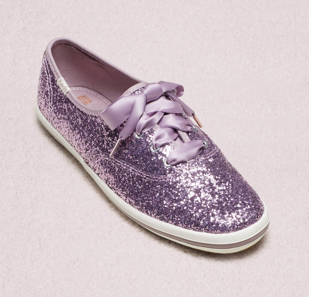 d8b7b1cff2b Keds x Kate Spade New York Purple Glitter Sneakers 2019