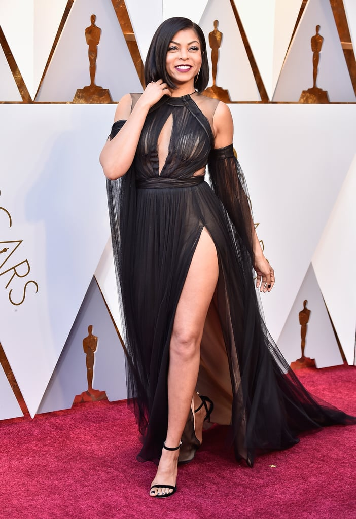 Taraji P. Henson Went For the Drama at the Oscars, and We're Here For It