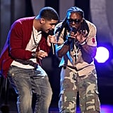 Pictured: Drake and Lil Wayne