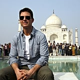 Tom Cruise was in India over the weekend.