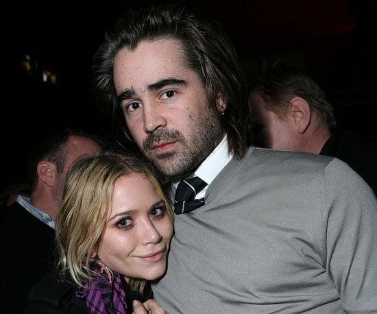 Mary-Kate Olsen and Colin Farrell cuddled up at the 2008 screening of his In Bruges.